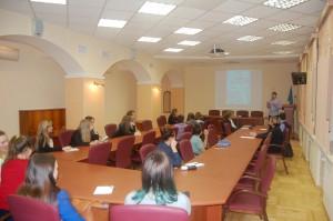 Учащиеся школ г. Сыктывкара на организационном собрании Малой академии